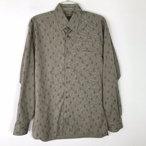 Canali Button Down Printed LS Shirt #1510